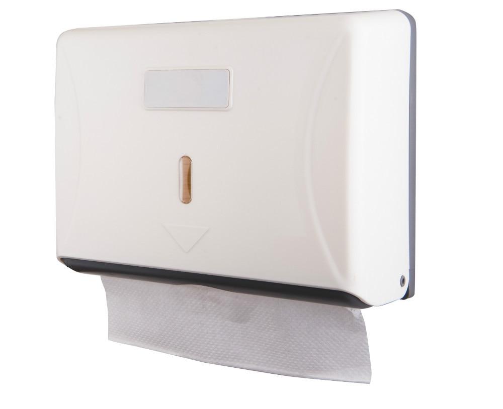 Z fold hand towel dispenser plastic tissue holder toilet - Bathroom towel and toilet paper holders ...