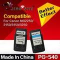 PG-540 CL-541 PG540 CL541 540XL 541XL printer ink cartridge for canon Pixma MG2250 MG2150 MG3150 MG3250 MG4150 MX435 MX375 MX515
