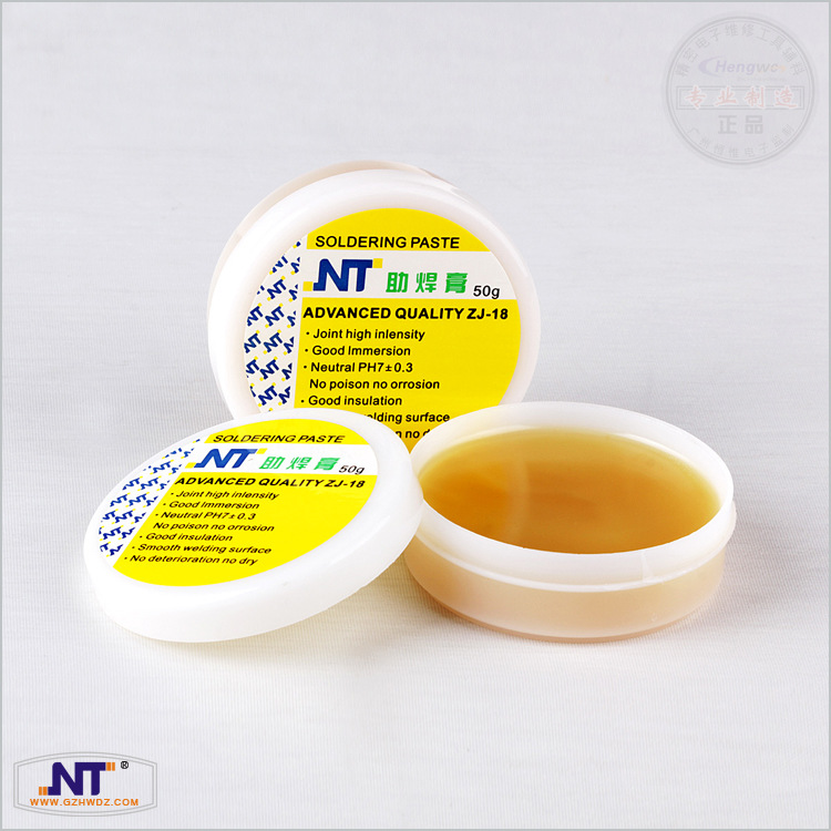 50g Flux Solder Flux Grease Soldering Tin Cream Low Temperature No Posion No Orrosion Soldering Paste Good Insulation