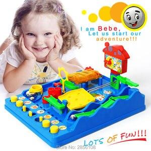 Интеллектуальный шар, аквапарк Beckham Adventures Монтессори настольная игра, приключение Bebe Perplexus Bakham Maze Puzzle toys