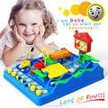 Intellectuele bal Waterpark Beckham Avonturen Montessori desktop spel, Avontuur van Bebe Perplexus Bakham Doolhof Puzzel speelgoed