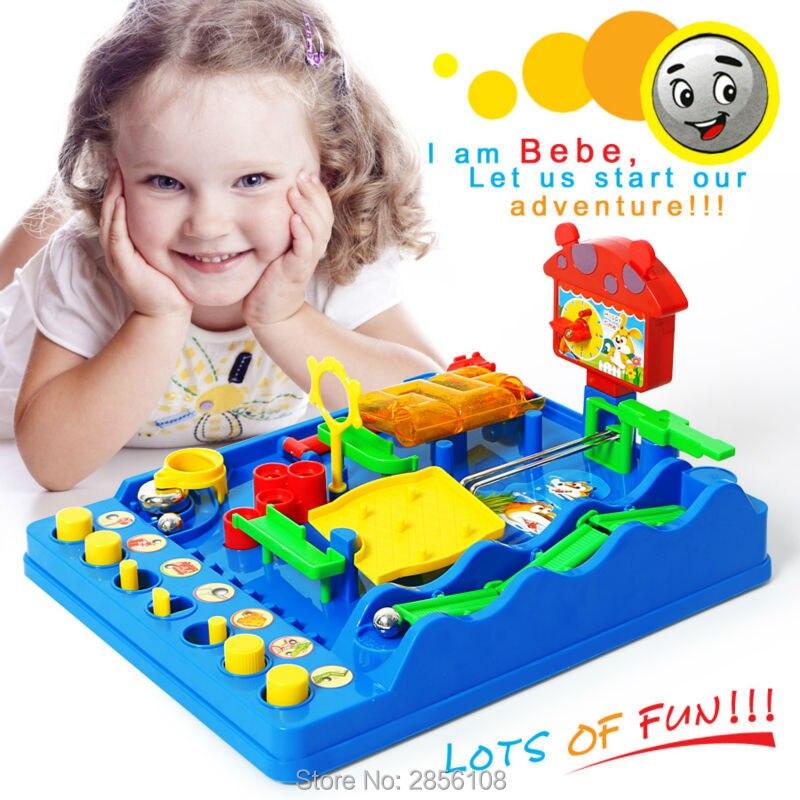 Intellectuelle balle Parc Aquatique Beckham Aventures Montessori jeu de bureau, Aventure de Bebe Perplexus Bakham Labyrinthe Puzzle jouets