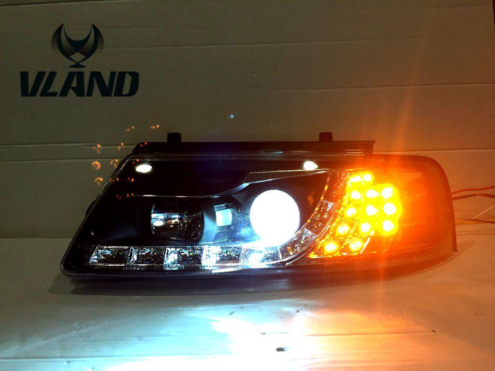 car head lamp for VW Passat B5 headlight LED Best quality H7 or D2H xenon lamp wv passat b5 турбину