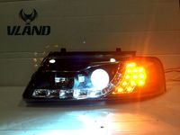 car head lamp for VW Passat B5 headlight LED Best quality H7 or D2H xenon lamp