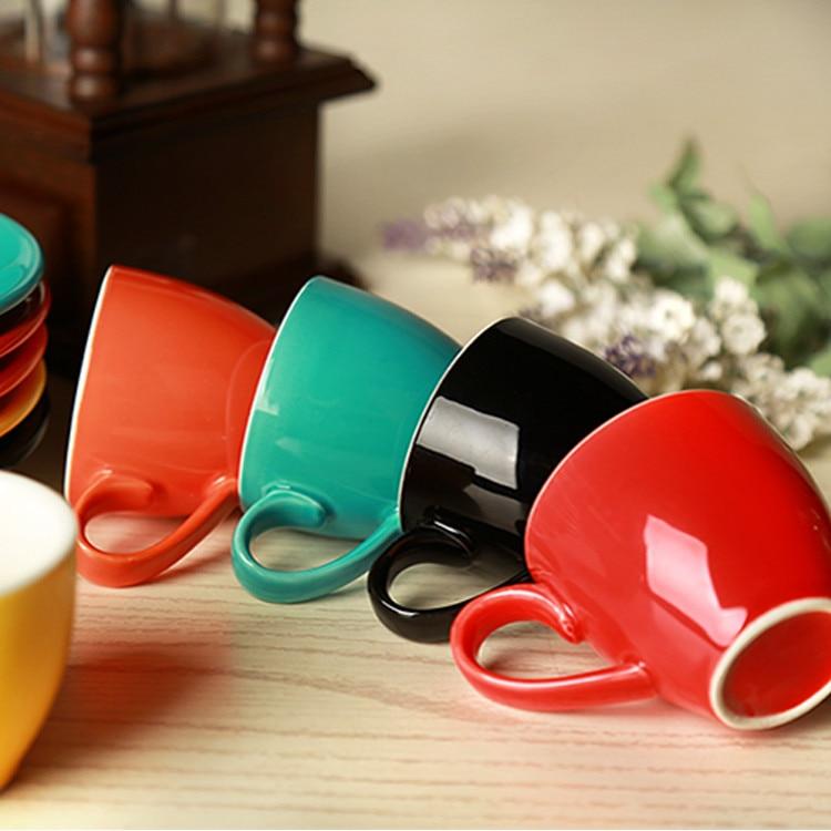 Jia-gui luo 1 Акция! 70 мл/80 мл, высококачественный керамический набор кофейных чашек, простой европейский капучино