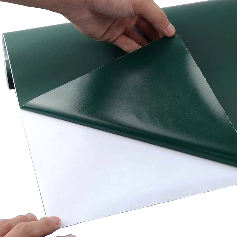 Creative solide bricolage tableau de craie noir blanc vert ...