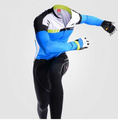 ФОТО  Cycling Jersey Long Sleeve Outdoor Sport Suits Bicycle Breathable Summer Bike Cycling Clothing