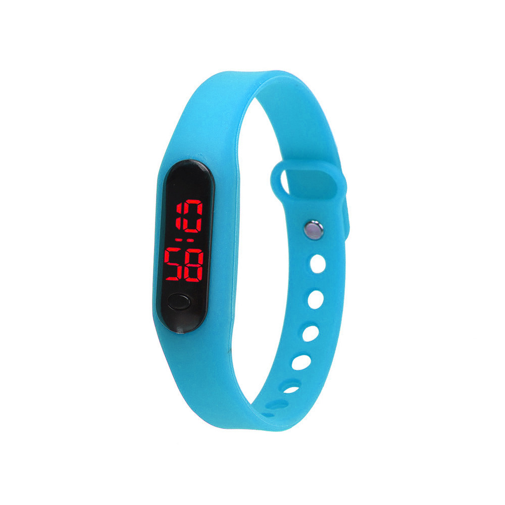 New Fashion Men's Digital Watch Casual Silicone Band Led life waterproof Outdoor Sports Wristwatch