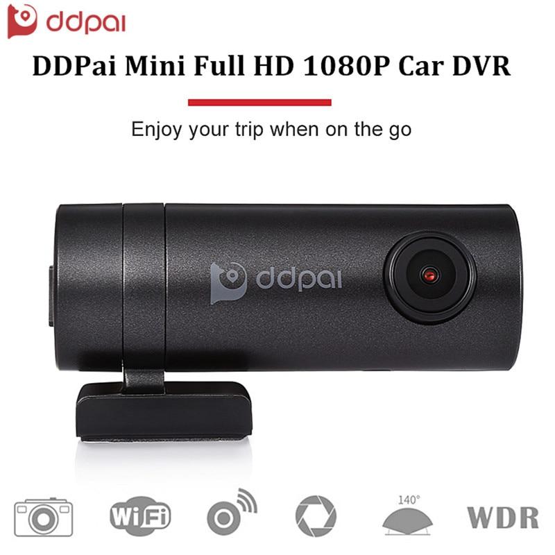 DDPai Mini Full HD 1080P Camera WiFi Car DVR Vehicle Digital Video Recorder Dash Cam Road Camcorder цены