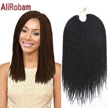 14inch 30strands Crochet Braid Hair Extensions Synthetic Box Braiding Hair Crotchet Braids Havana Mambo Crochet Senegalese