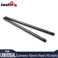 SmallRig 15mm Rod Aluminum Alloy Rod With M12 Female Thread 40cm 16 Inches Long 1054 Pack