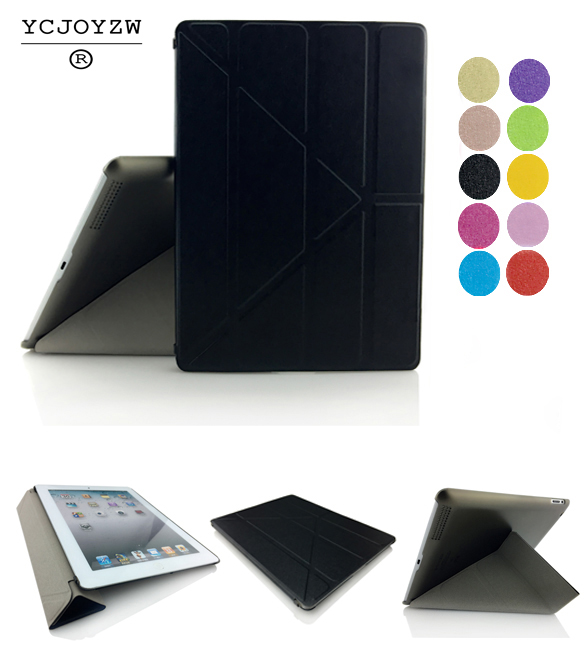 NEW Deform case For Apple iPad 2 3 4 Smart Case Original 1:1 Tablet Leather For A1460`A1459`A1458`A1416`A1430`A1403`A1395`A1396