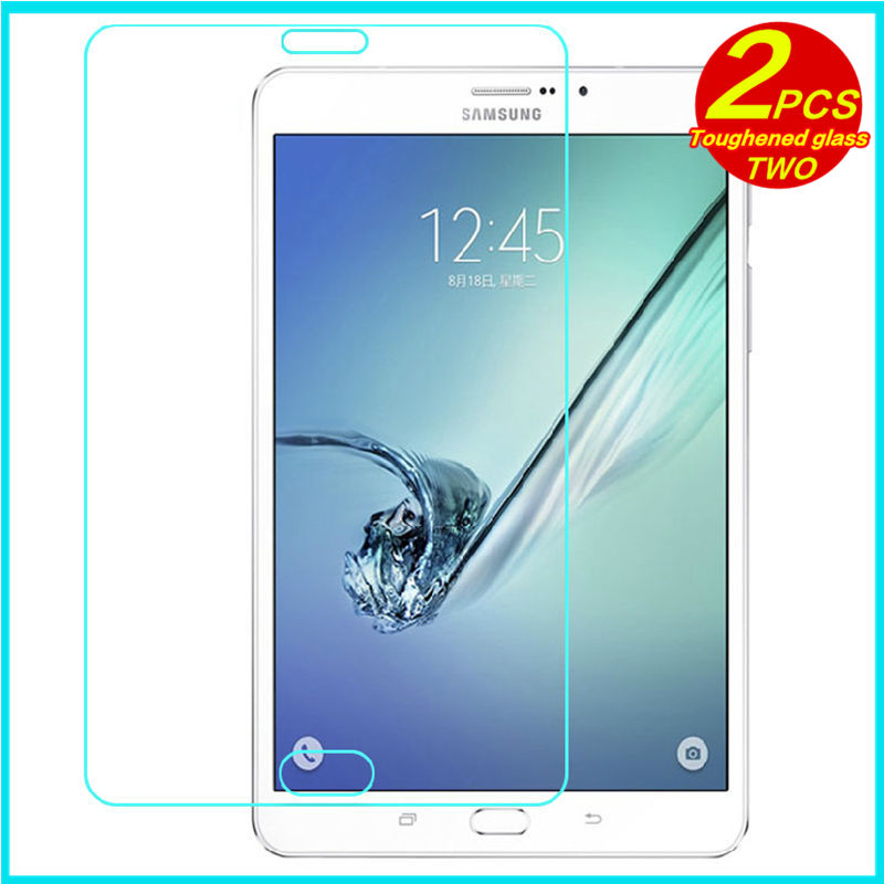 En Verre trempé membrane Pour Samsung Galaxy Tab S2 T710 T715 8.0 Acier film Tablet Film de Protection Écran Trempé SM-T715 T710 8 cas