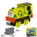 x102Free shipping 2015 New Diecast metal sliding train model Thomas and friends train master Scruff with hook children toy gift