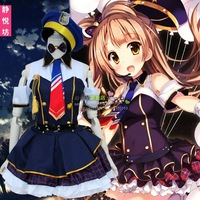 LoveLive Gakuen Idols LL Cos South Bird Policewoman Navy Clothing Love Live