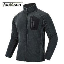 TACVASEN Thin Military Fleece Jacket Coat Winter Men Thermal Fleece Jackets Army Green Clothes Mens Windproof Fleece Liner