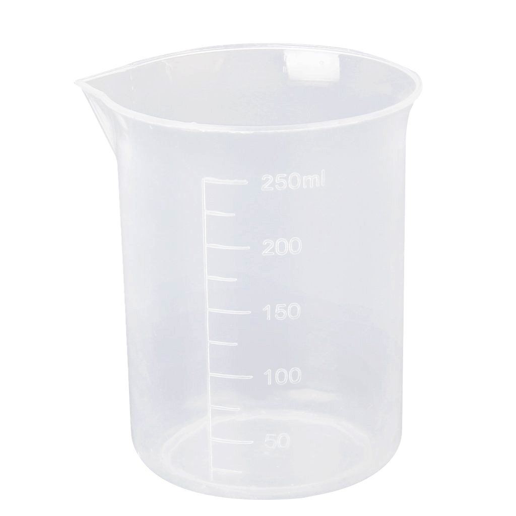 Affordable 250ml Graduations Beaker Transparent