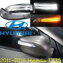 Auto-styling, Tucson IX35 Spiegel licht, 2010 ~ 2016, Freies schiff! 2 stücke, IX35 spiegel licht; auto-deckt, chrom, IX35 wiederum licht; IX45, IX 35