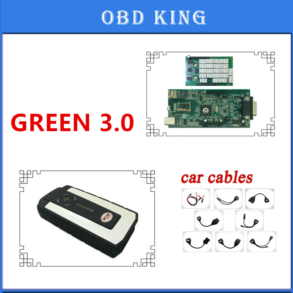 Selfless With Keygen !v5.008 R2 Version Free Shipping Wow Snooper Green 3.0+8car Cables Odb2 Diagnostic Tools Replacement Tcs Pro Tool Car Repair Tools