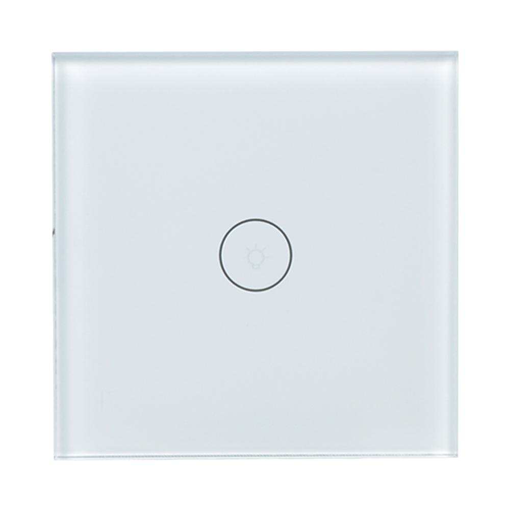 qiachip wifi smart switch smart home wireless remote control wall switch work with amazon alexa. Black Bedroom Furniture Sets. Home Design Ideas