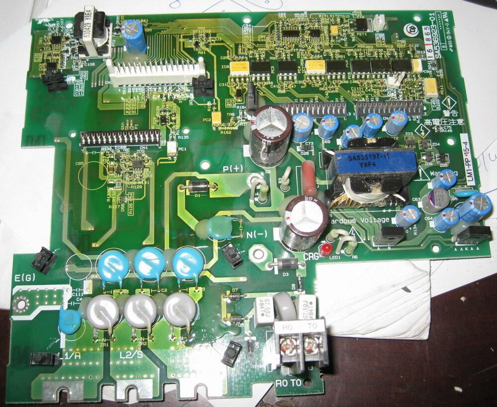 The elevator inverter FRN15LM1S-4C drive webmaster board LM1-PP15-4 1pc used s inverter board a5e00296878 zl02