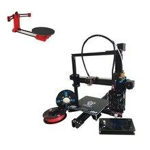 Набор продажи, auto level Prusa I3 HE3D EI3 одного металла экструдер 3D принтер DIY kit, добавив Красный cilop с открытым исходным кодом 3d сканер DIY Kit