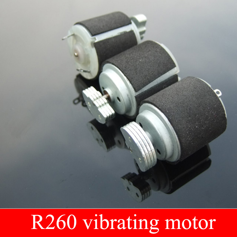 где купить H1 Black 260 Vibration Motor Strong Vibration Dynamic Circle R260 Miniature DC Vibration Motor 3-6V Massager дешево