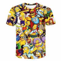 2019 neue männer shirts 3D gedruckt Cartoon für männer frauen unisex casual T-shirt sommer lustige mode coole Tops Männer Druck t-Shirt