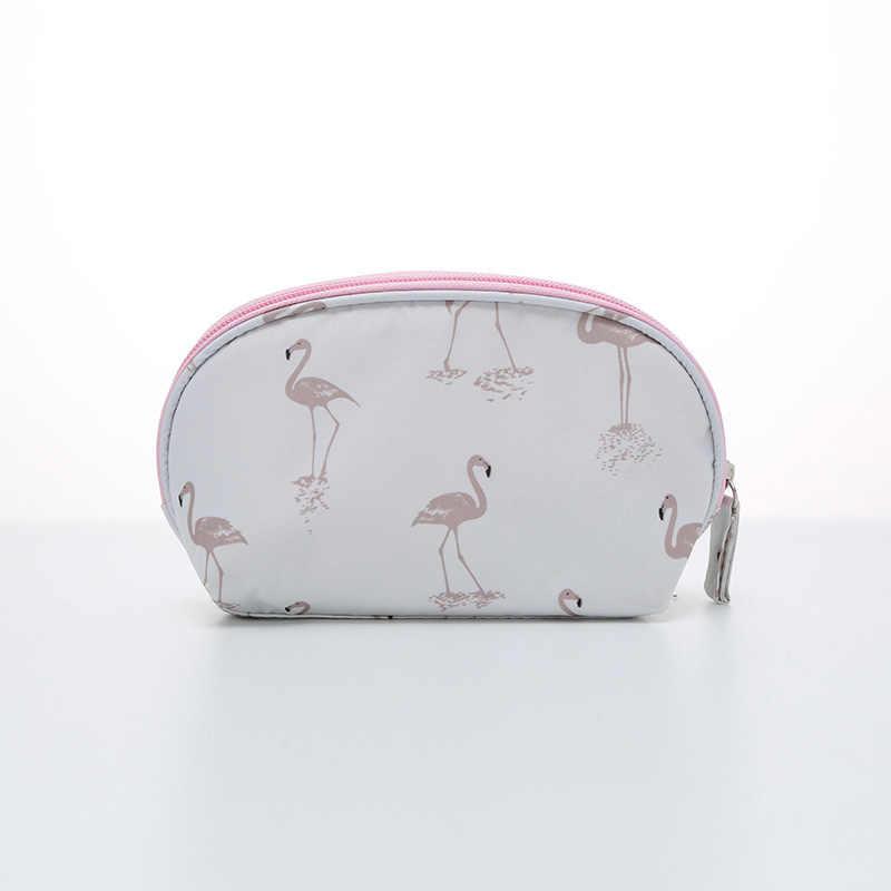 Картинки сумочка для косметики с фламинго