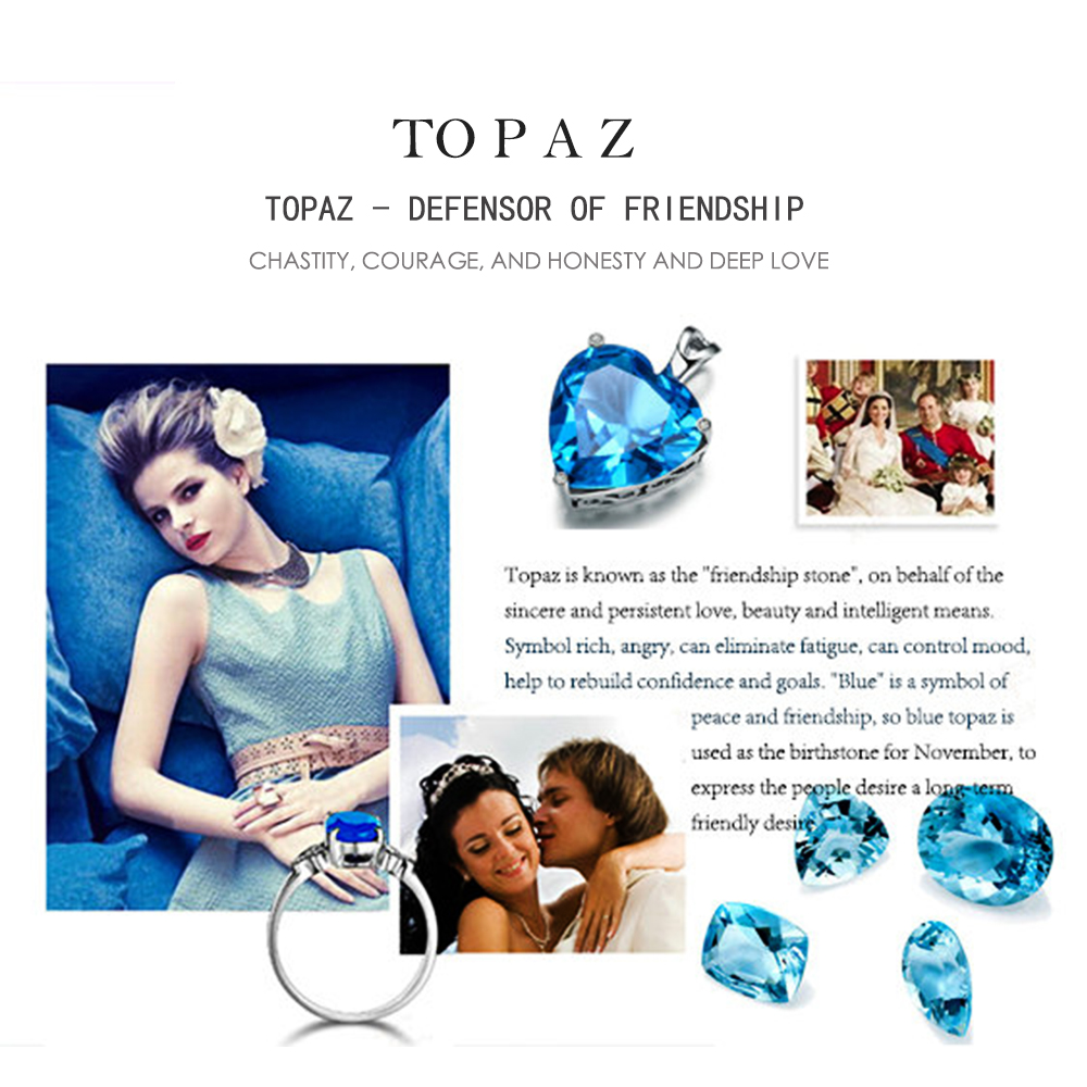 Natural Gemstone Topaz Blue LMTPZ