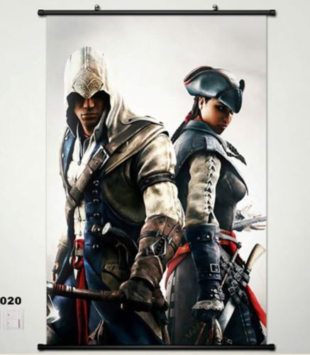 Assassinu0027s Creed Unity Home Decor Game Poster Wall Scroll Cosplay 020 Anime
