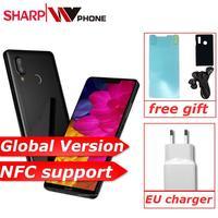 Глобальная версия SHARP AQUOS S3 4 GB 64 GB Quick Charge 3,0 Смартфон Snapdragon 630 Восьмиядерный 6 ''16MP NFC 3200 MAH мобильный телефон