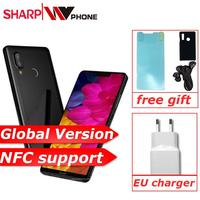 Global Version SHARP AQUOS S3 4GB 64GB Quick Charge 3.0 Smartphone Snapdragon 630 Octa Core 6'' 16MP NFC 3200MAH Mobile Phone