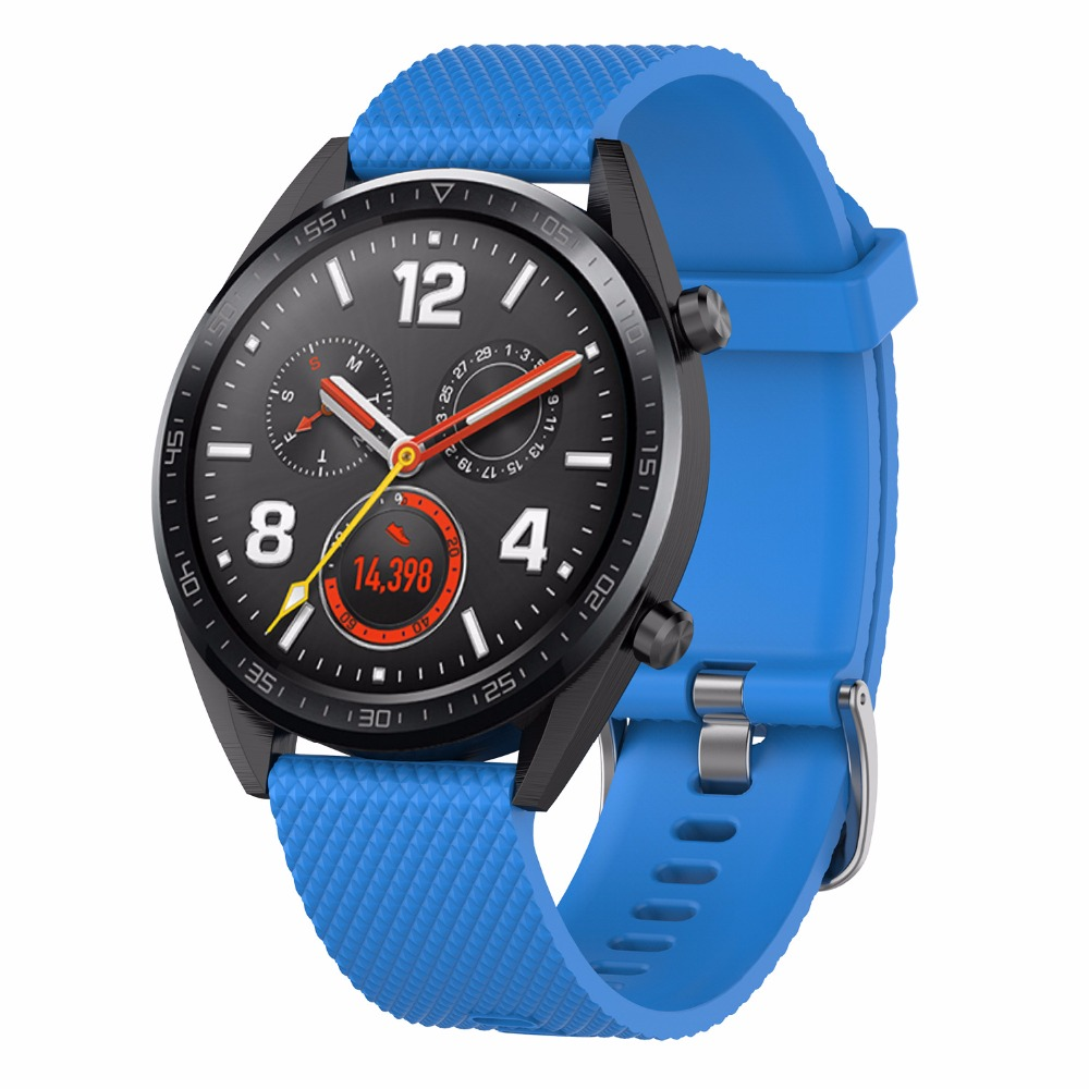 Image 5 - Silicone strap replacement watchband smartwatch strap for Huawei Magic / Watch GT / Ticwatch Pro-in Smart Accessories from Consumer Electronics