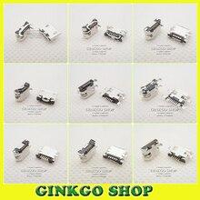 10 моделей, 100 шт. всего Micro USB 5pin Джек хвост сокет, разъем Micro USB порт сокет для Samsung Lenovo Huawei ZTE HTC т. д.