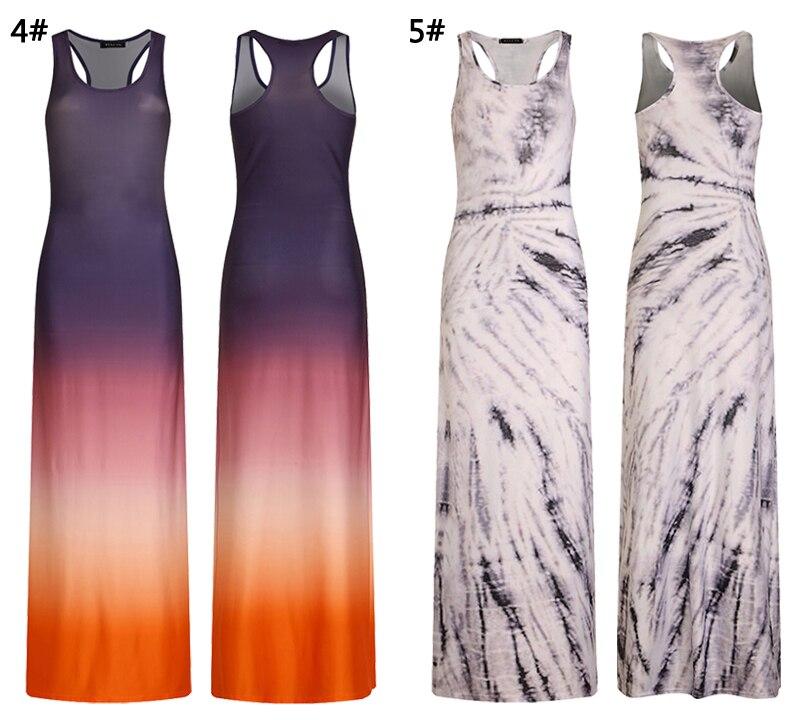2018 Women Summer Casual Beach Maxi Dresses Boho Floor Length Elegant Bodycon Party Long Bohemian Dress Plus Size 3XL 4XL 5XL 11