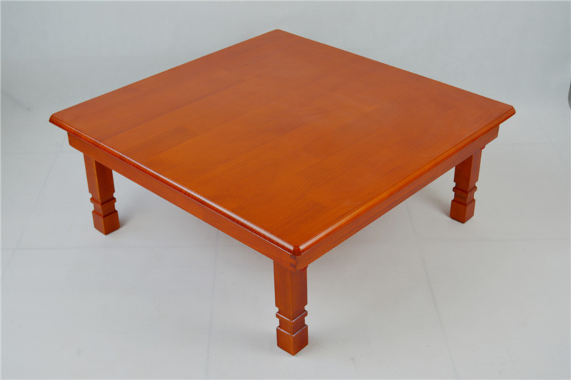Solid Pine Wood Folding Table Square 80cm 2 Finish Natural/Brown Living  Room Furniture Large Low Folding Coffee Table Wooden In Coffee Tables From  Furniture ... Part 84