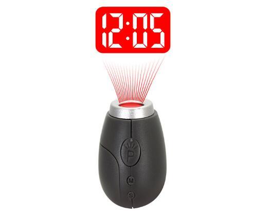 Rood Licht Lamp : Fashion mini projectie klok lamp sleutelhangers rood licht