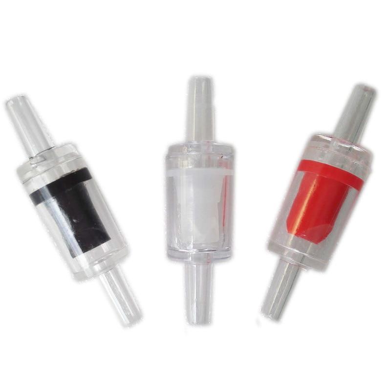 5 шт., воздушный насос для аквариума, обратный клапан, 5 X, один из способов, без возврата, аквариумный клапан, система Co2, воздушный насос, три ц...