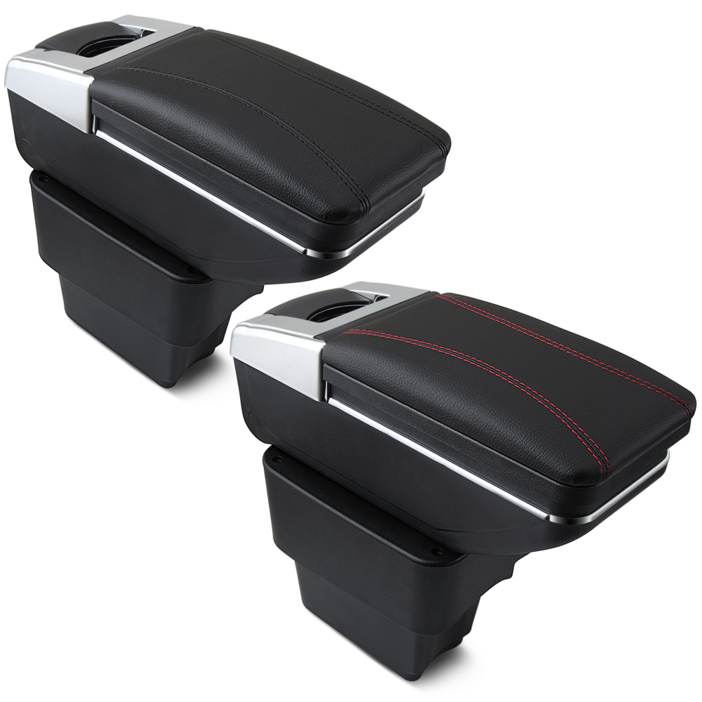 Car Armrest For KIA Rio rio 3 2011 2016 Centre Console Storage Box Arm Rest 2012