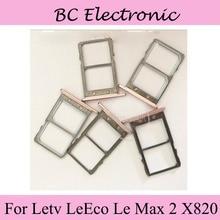Subiu Titular do Cartão de Bandeja Slot Para Cartão Sim Para Letv LeEco Le Max 2X820 32/64 GB ROM 4/6 GB RAM 4G Telefone Móvel LTE