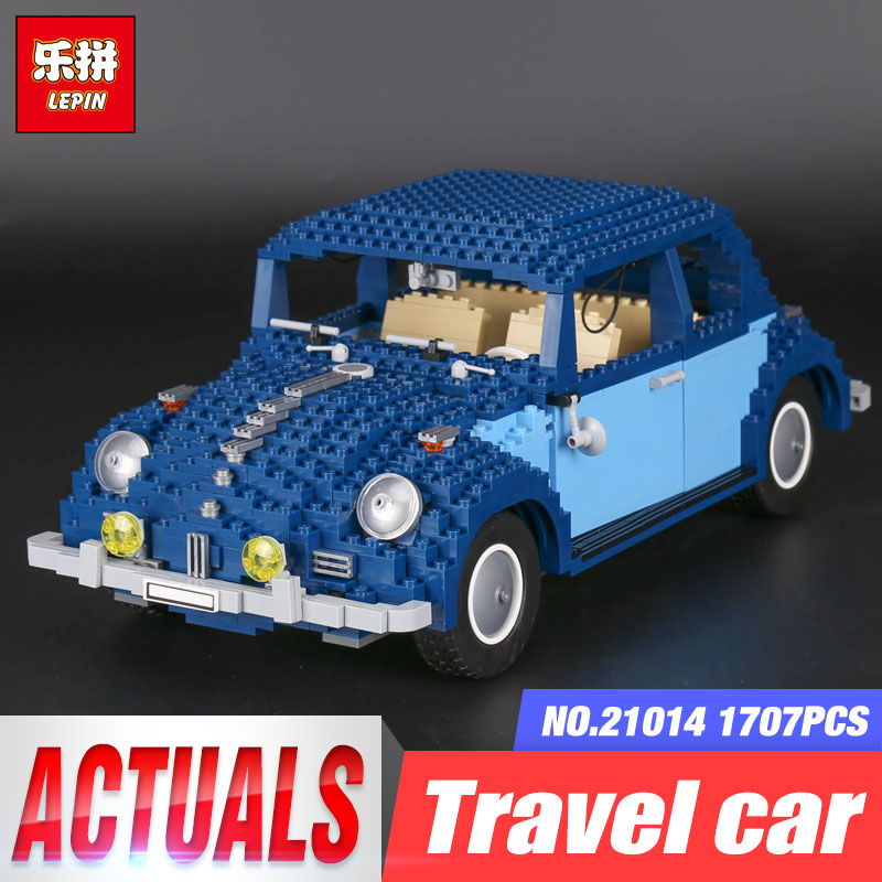 Lepin 21014 1707Pcs Technic Classic Series The Ultimate Beetle Set children Educational Building Blocks Bricks Toys Gifts 10187 in stock lepin 23015 485pcs science and technology education toys educational building blocks set classic pegasus toys gifts