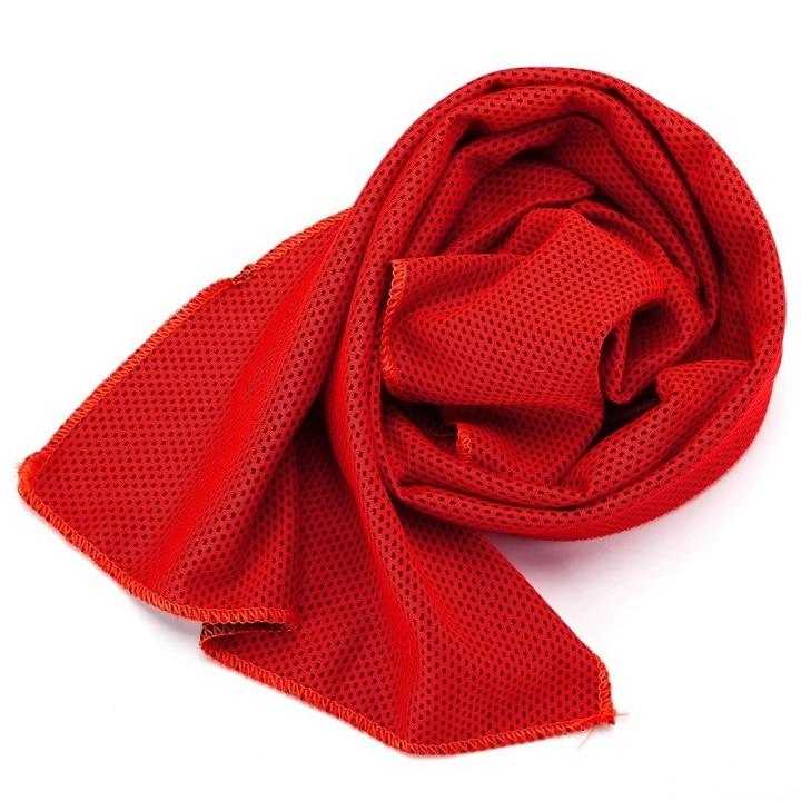 1 шт. купальники охлаждающее полотенце ледяной прочный для бега, спортзала Полотенца коврик для отдыха мгновенное охлаждение Спорт на открытом воздухе Полотенца - Цвет: R