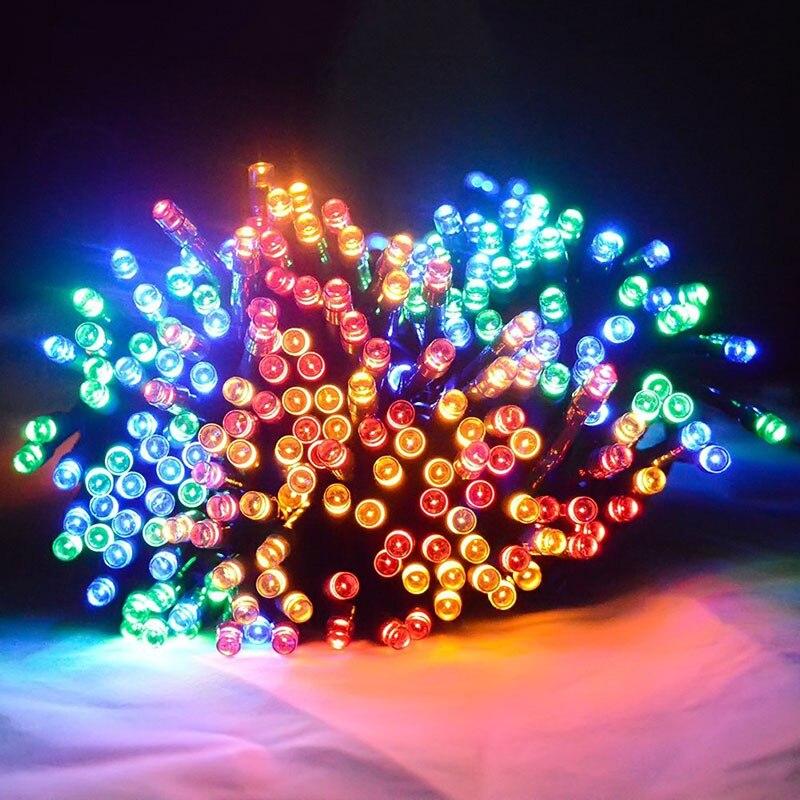 Solar Powered Outdoor String Lights 22M 200 Leds Solar Fairy String Lights For Outdoor Gardens Homes Party Christmas  JA55