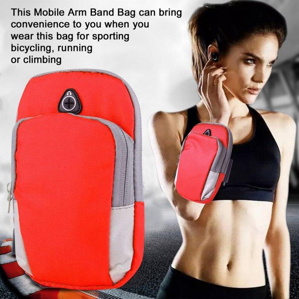 5.5inch Sports Running Jogging Gym Armband Arm Band Holder Bag For Mobile Phones Professional Design