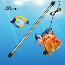 New 30/40/50CM White Blue LED Waterproof Aquarium Lamp Fish Tank LED Bar Submersible Lights High Luminanc
