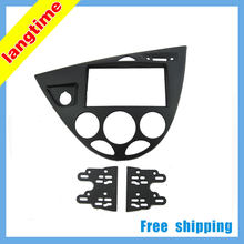 Free shipping-Car refitting DVD frame,DVD panel,Dash Kit,Fascia for 06 Ford Fiesta/ Focus, 2DIN (Europe, Right)(China)