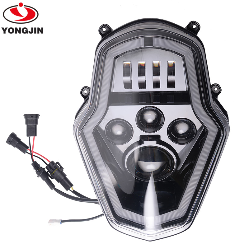 LED Headlight Assembly With DRL For KTM 1050/1090/1190/1290 ADVENTURE