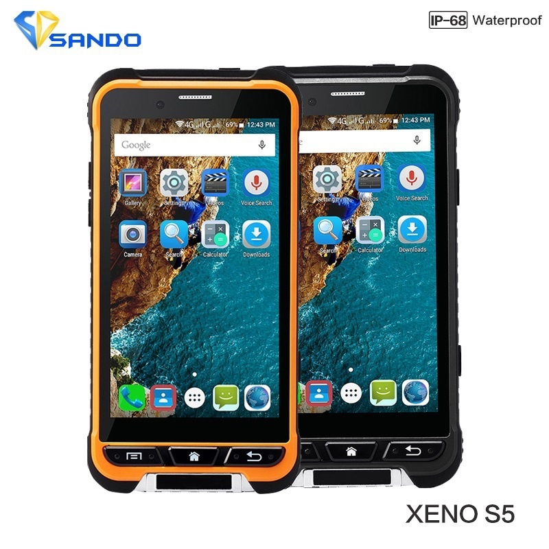 Original 4G LTE XENO S5 IP68 Waterproof Phone 4.7″ 3GB RAM 32GB ROM 13MP Quad Core NFC GPS smartphone Dual SIM Thin cellphone