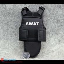 1/6 Figure Model Accessories SWAT Body Armor Tactical Vest for 12″ Action Figure Soldier Sets Toys Parts